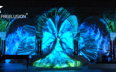 Freelusion – Dance and 3D projection mapping